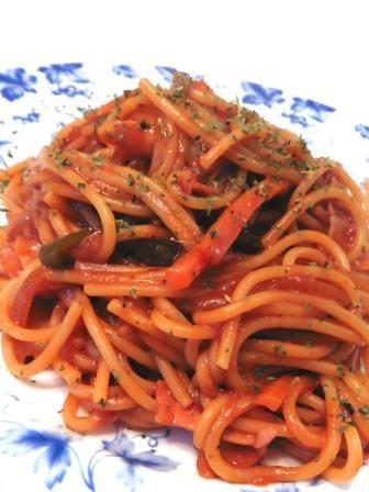 簡単!時短‼味噌リタンスパゲッティ!