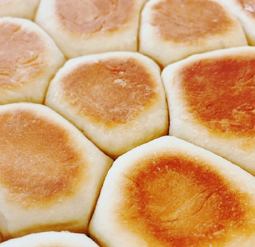 フライパンでバターちぎりパン