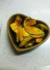 レンジで作る*ノンオイルかぼちゃチップス