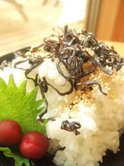 こんぶご飯の写真