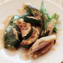 夏野菜の蒸し焼き