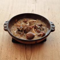 栗ときのこの食べるスープ