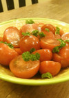えごま油&青じそドレの超簡単トマトマリネ