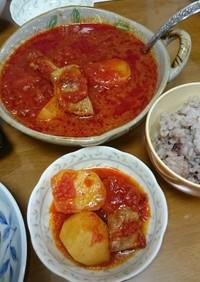 2日美味しい‼塩豚のトマト煮♪