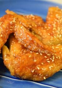 パリッと香ばしい☆鶏手羽先の照り照り焼き