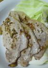 金ゴマパラパラ 豚の塩焼き