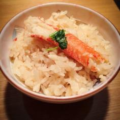 ボイル蟹でウマウマ♡カニ飯