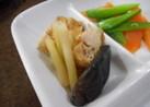 揚げ豆腐と椎茸の春の煮物