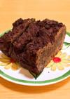 チョコラベンダー&ブルーベリーケーキ