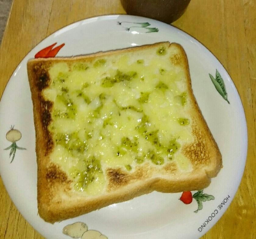 青海苔チーズトースト(*^^*)