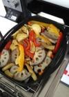 グリルで焼き野菜