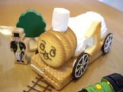 息子喜ぶ!トーマスケーキ!!の写真