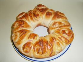 パネクイックのちぎりパン(ハムマヨ)