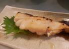 酒粕と味噌で鱈の粕漬!