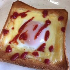 ありそうでなかった!卵トースト