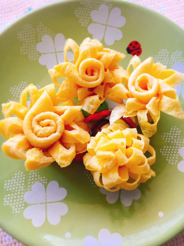 お弁当に!お花の卵焼き【動画有り】