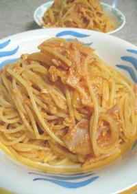 ナポリタン&カルボナーラスパゲティー