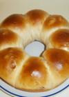 パネクイックのスイートちぎりパン(葡萄)