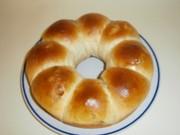 パネクイックのスイートちぎりパン(葡萄)の写真