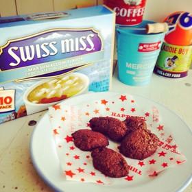Swiss miss で簡単クッキー☆★