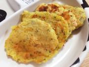 離乳食に♪鮭とジャガイモのチーズおやき☆の写真