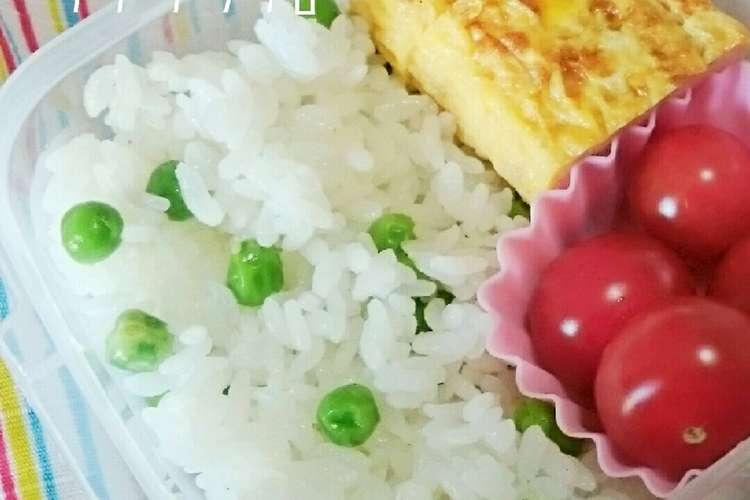 ご飯 冷凍 グリンピース