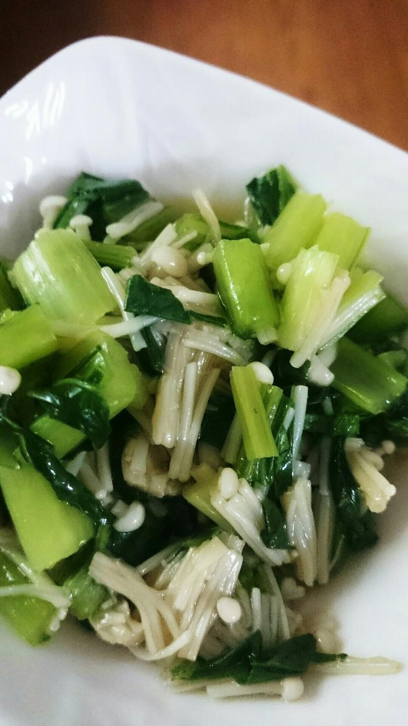 レンジで簡単*小松菜とえのき和え