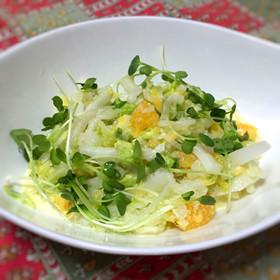 白菜と夏みかんの爽やかコールスロー