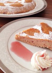 炊飯器で簡単*春 いちごのガトーショコラ