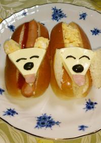 6ピースチーズdeにっこり犬