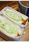 梅キャベのトーストサンド
