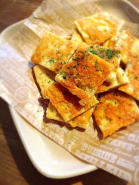 フライパンde油揚げのカリカリチーズ焼♡