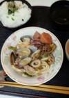 血管ダイエット食686(焼きうどん)
