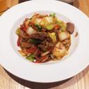 ご飯がすすむ牛コマと白菜の炒め煮
