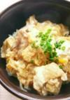 簡単♪ふわとろ卵の親子丼★