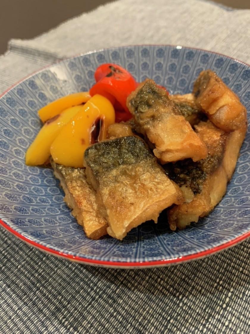 魚と野菜の甘酢焼き浸し