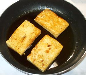 豆腐ステーキ♪豆腐あんかけ♪簡単甘辛豆腐