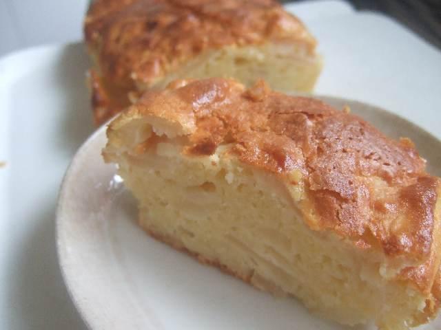 簡単☆ノンオイルでヘルシーりんごケーキ