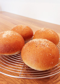 HB☆全粒粉のふんわり甘〜いパン