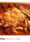 鳥胸肉のトマトソース煮込み〜超簡単〜