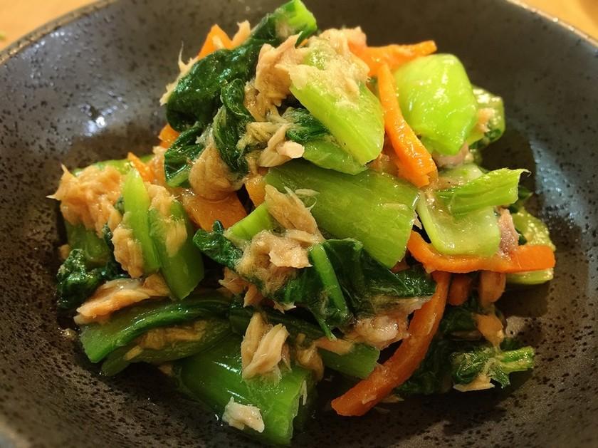 簡単♪美味しい♪青梗菜とツナのサラダ