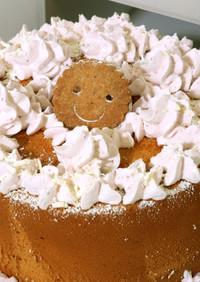 ホワイトデー 簡単デコレーションケーキ