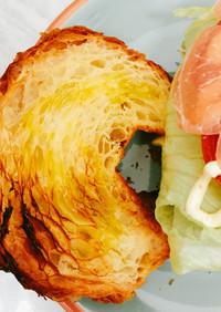 染み込みオリーブオイルのサンドイッチ☆彡