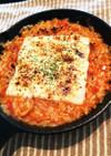 トマトソースとコーンスープで簡単リゾット