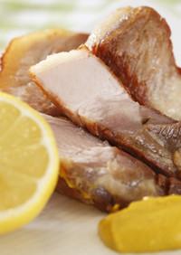【IHレシピ】豚バラ肉のコンフィ