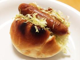 朝食にピッタリ★ウインナーサンド
