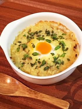 MECトリニティ☆肉と卵のチーズグラタン