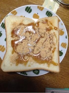 黒蜜きな粉トースト