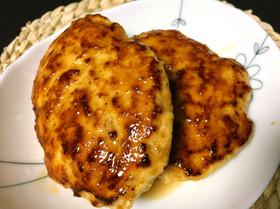 低糖おかず☆ビニール袋で鶏むねハンバーグ