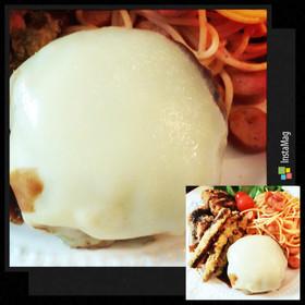 ワンプレートなどに♡ミニチーズハンバーグ